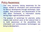 policy awareness