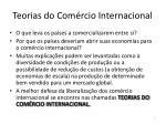 teorias do com rcio internacional