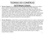 teorias do com rcio internacional1