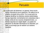 percusi n