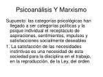 psicoan lisis y marxismo