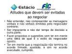 atitudes que devem ser evitadas ao negociar1