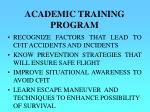 academic training program1