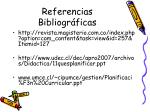 referencias bibliogr ficas
