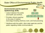 state office of environmental public health