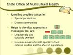 state office of multicultural health