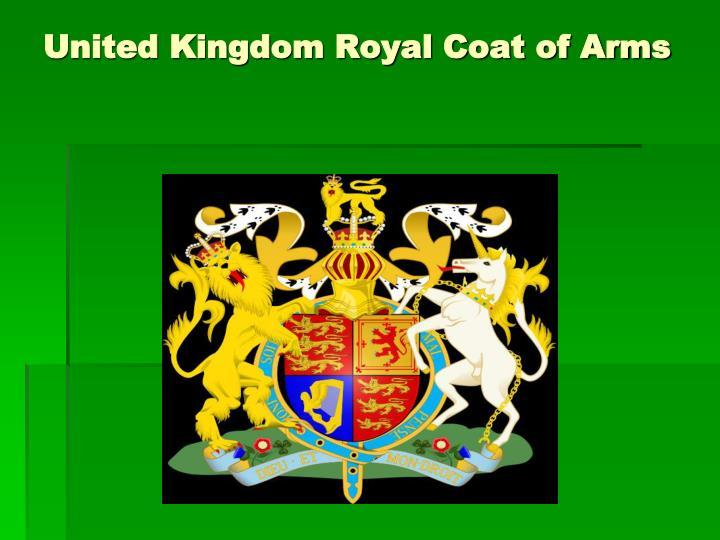 United Kingdom Royal Coat of Arms