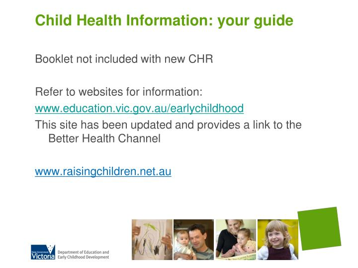 Child Health Information: your guide