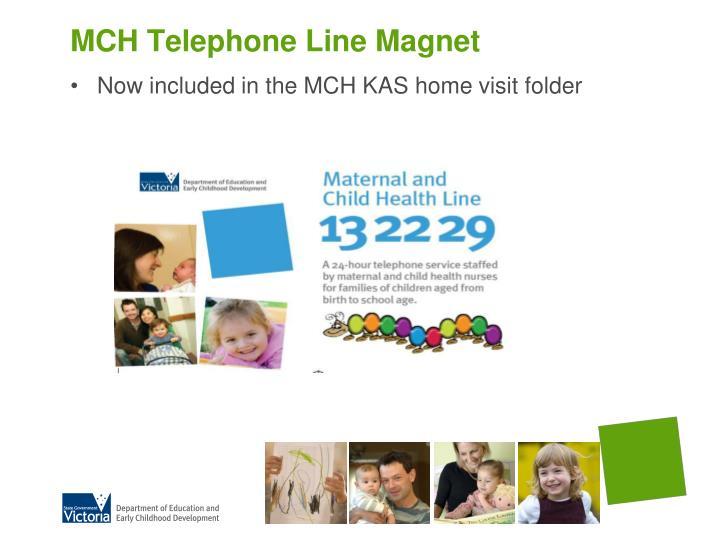 MCH Telephone Line Magnet