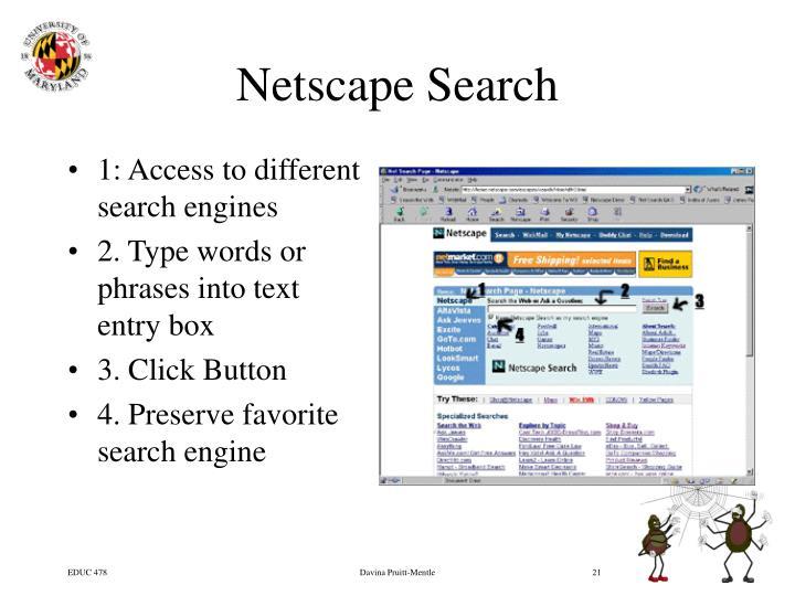Netscape Search
