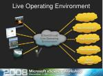 live operating environment1