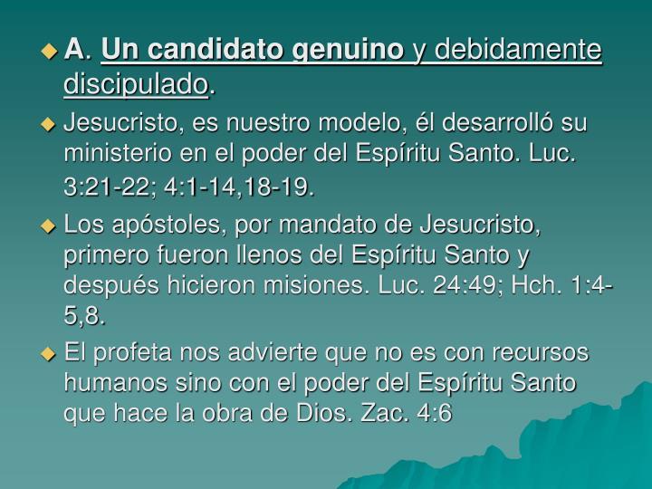 El candidato al campo misionero 1336060