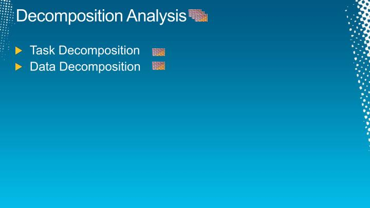 Decomposition Analysis