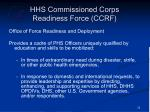 hhs commissioned corps readiness force ccrf