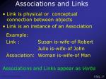 associations and links
