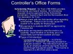 controller s office forms5