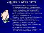 controller s office forms9