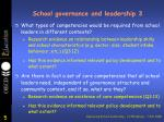 school governance and leadership 3