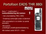 portofoon eads thr 880i4