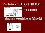 portofoon eads thr 880i5