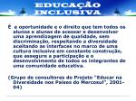 educa o inclusiva