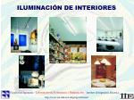 iluminaci n de interiores