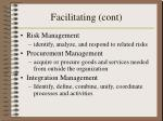 facilitating cont