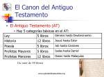 el canon del antiguo testamento3