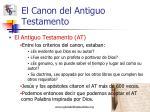 el canon del antiguo testamento5