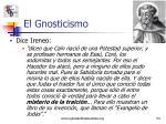 el gnosticismo8
