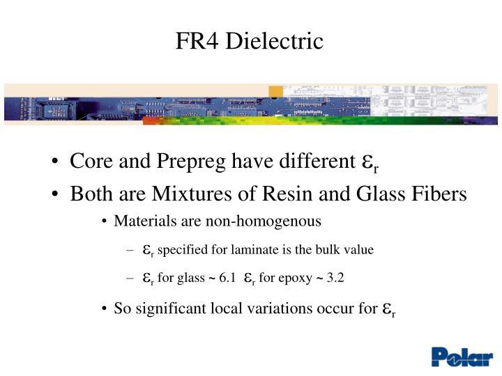 Fr4 dielectric