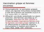 vaccination grippe et femmes enceintes