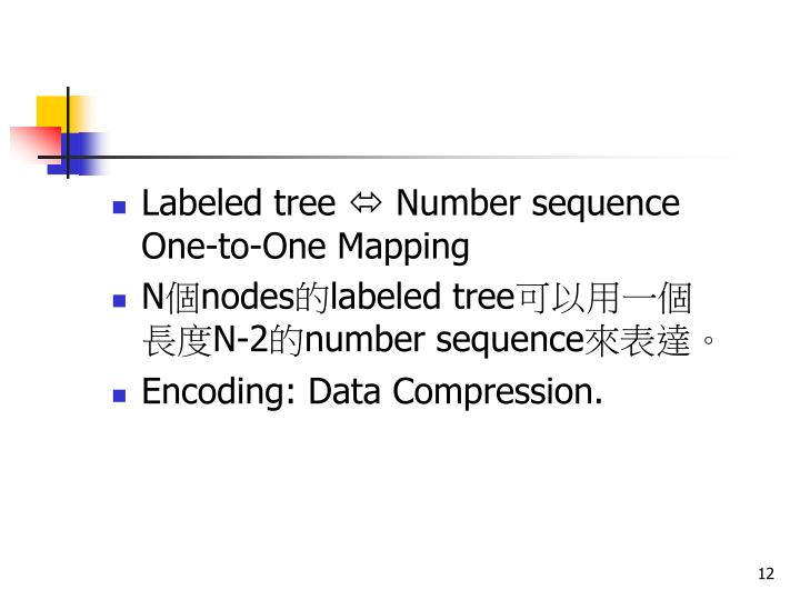 Labeled tree