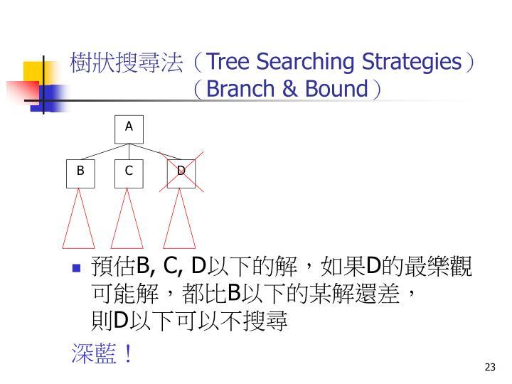 樹狀搜尋法(