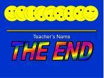 teacher s name
