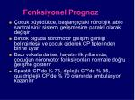 fonksiyonel prognoz