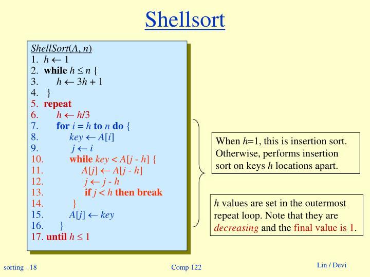 Shellsort