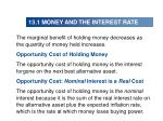 13 1 money and the interest rate1