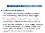 13 1 money and the interest rate10