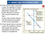 13 1 money and the interest rate14