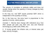 13 2 the price level and inflation13