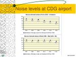 noise levels at cdg airport