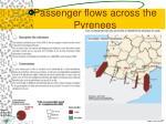 passenger flows across the pyrenees