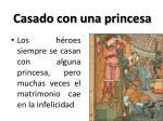 casado con una princesa
