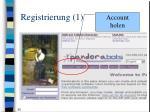 registrierung 1