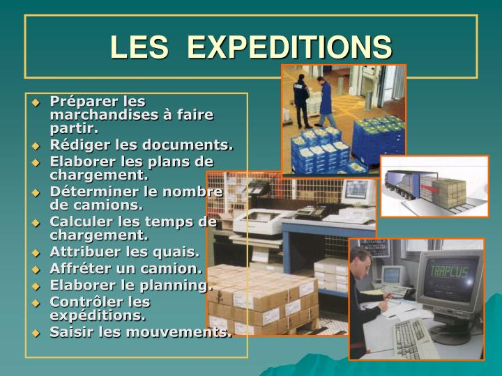 les expeditions n.