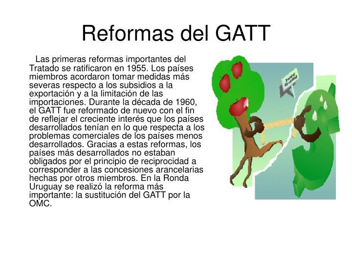 Reformas del GATT
