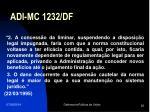 adi mc 1232 df