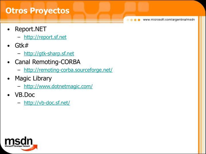 Otros Proyectos