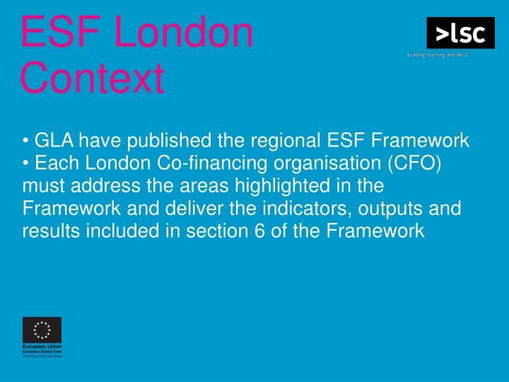 ESF London